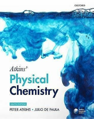 Atkins' Physical Chemistry by Peter Atkins, Julio De Paula (Paperback, 2009)