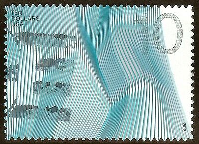 U.S. # 4720 $10 Waves of Color used F-VF NG 2012 High Value Regular Issue