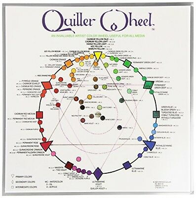 Jack Richeson Quiller Color Wheel for All Media by Stephen Quiller, 8.5 by