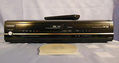 TOSHIBA DVR7 D-VR7 DVD/VHS Combination Recorder, HDMI, Up-Conversion NICE UNIT!