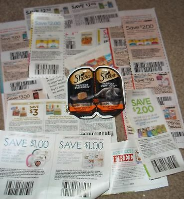 Sheba Perfect Portions pate savory chicken entree two servings SEALED + coupons