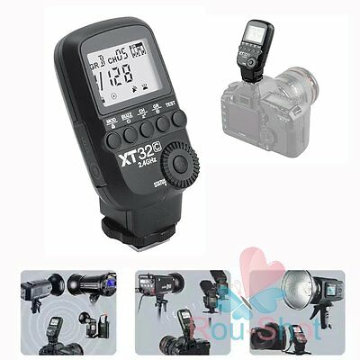 Godox XT32C 2.4G Wireless Power Control Flash Trigger 1/8000s HSS for Canon