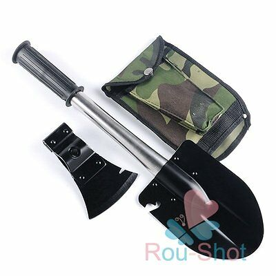 Outdoor Camping 4 in 1Multi-function Knife Shovel Axe Saw Emergency Survival