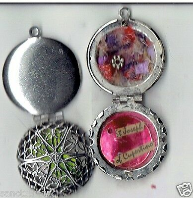 St Joseph of Cupertino Relic Locket Silver Colour +Certificate +Holy Cards