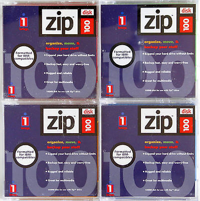 13 x Iomega Zip Disks 100MB Mac Formatted & Fully Tested