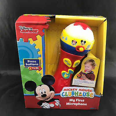 Disney Mickey Mouse Clubhouse My First Microphone Musical Toy Toddler Gift