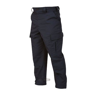 TRU SPEC by Atlanco EMS BDU Pant Navy Blue XLG 40 to 42 Waist Unhemmed Length