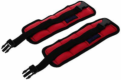 Kiefer 811400-5 Ankle/Wrist Weights (1-Pair), 2.5-Pound, Red
