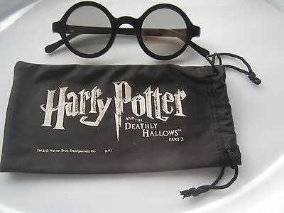 Harry Potter Deathly Hallows Part 2 3D glasses - Promo