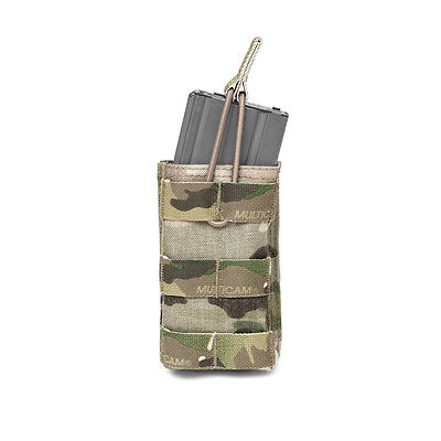 ELITE OPS SINGLE MOLLE OPEN MAGAZINE POUCH SUIT 5.56mm SINGLE SHINGLE CORDURA
