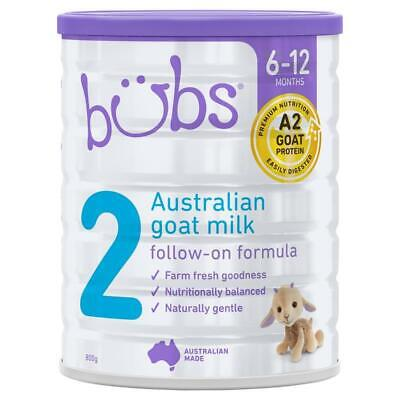Bubs Goat Follow On Formula 800g Online Only