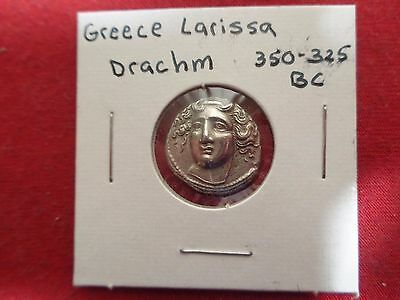 Larissa -Tin Remake Of Ancient Greek  Drachm  Coin