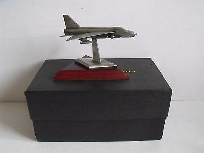 Boxed English Miniatures Pewter Aircraft Sculpture 'the Bac Lightening'
