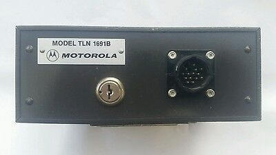 Motorola Tln 1691B Mobile Siren Amplifier Police Sheriff Ambulance Fire