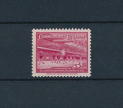 [44386] Ecuador 1939 Sports Opening ceremony from set MLH
