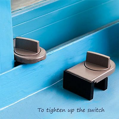 Strap Stopper Windows Sash Restrictor Safety Lock Sliding Doors Window Locks