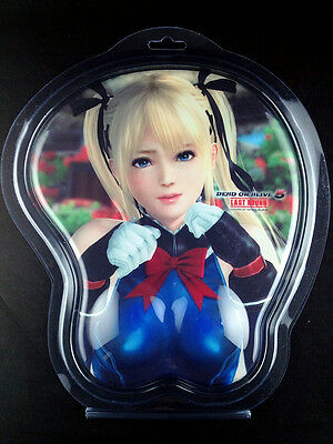 Dead or Alive 5 Last Round Marie Rose 3D Mouse Pad Oppai Koei Tecmo Games New