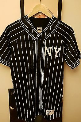 BNWT Majestic Athletic baseball jersey - New York Giants - black - size M
