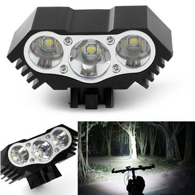 12000Lm 3 x CREE XM-L T6 LED Bicycle Lamp Bike Headlight Cycling motorcycle Head