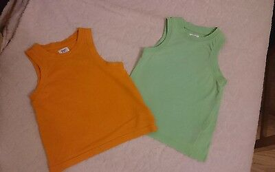 2 boys vests size 1.5 -2 years