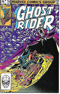 Ghost Rider #74 (Marvel 1982; vf/nm)