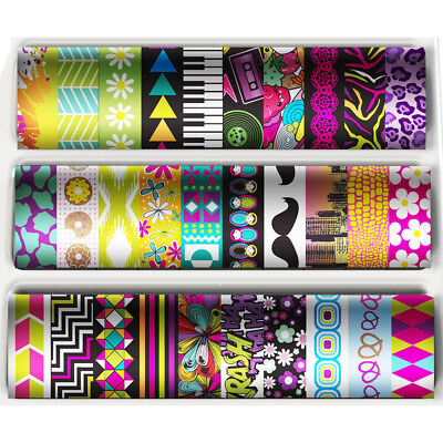 Fashion Angels 30 Rolls Of Decorative Tapeffiti Washi Tape - Half Caddy