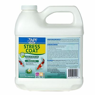API Pond Care Stress Coat 1.89L Water Conditioner Stress Conditions Fish Water