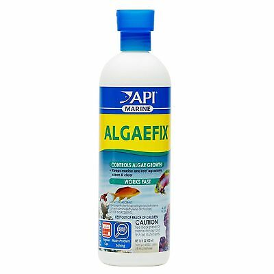 API Marine Algaefix 473ml Controls Algae Marine Reef Fish Friendly Aquarium Tank