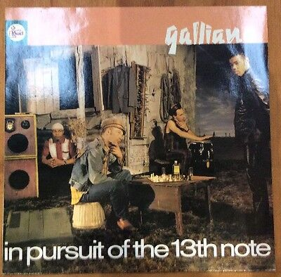 GALLIANO - In Pursuit Of The 13th Note (LP) (VG-EX/EX)