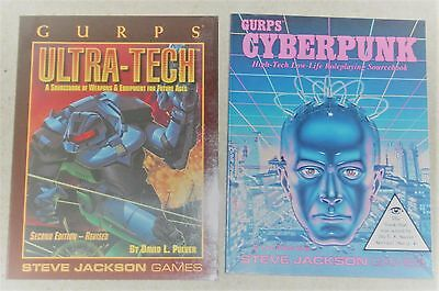 2 GURPS Role-play SF Books