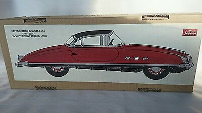 Paya 1950 Packard Tin Friction Car Reference #3698 Made in Spain