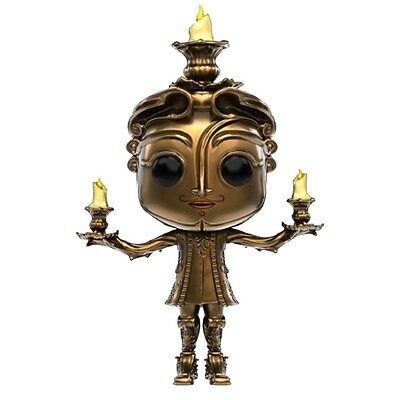 Funko POP! Vinyl Beauty and the Beast Movie - Lumiere - UK Seller