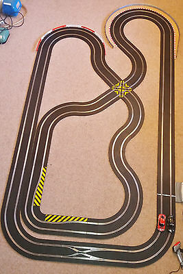 Scalextric Set, Large Digital Layout with 2 Digital (DPR) cars, VGC