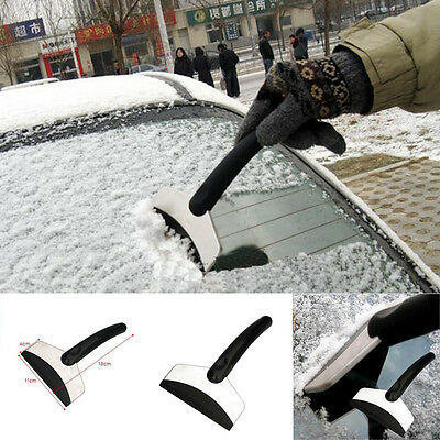 New Protable Stainless Steel Car Snow Shovel Deicing Scraper Removal Clean Tool