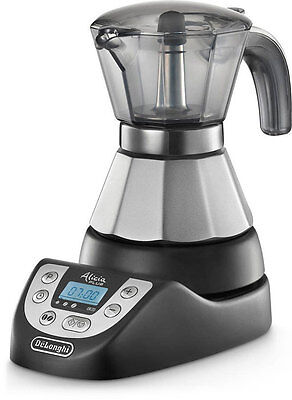 Longhi EMKP21B Alicia Plus Mocha Electric 1-2 Cups featuring Function Orzo