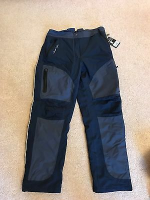 Mark Todd Reinga Trousers. Size 16. Brand New. Navy