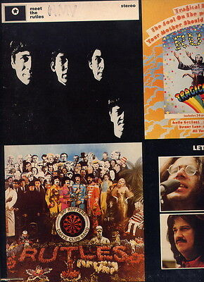 The Ruttles Beatles Related Ee.uu. Lp 33 Same + Booklet