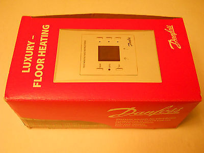 In Floor Heating  Thermostat 120/240V Electric Radiant Programmable Gfci