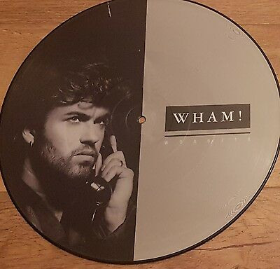 """Wham! George Michael I'm Your Man 12"""" inch Picture Disc UK"""