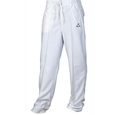Henselite Gents White Sports Bowls Trousers.  Free Postage.