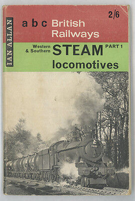 Ian Allan ABC British Railways Locomotives Part 1 Western & Southern May 1964