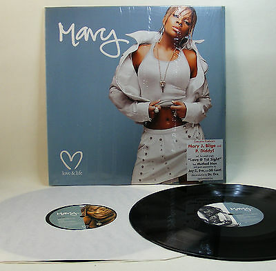 2Lp Mary J. Blige - Love And Life - 2003 Geffen Rec. - Jay-Z, Eve, 50 Cent