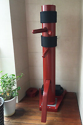 Brand New Traditional Wing Chun Wooden Dummy with Wooden Base