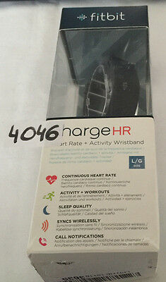 Fitbit Charge HR Heart Rate Large Black Wristband