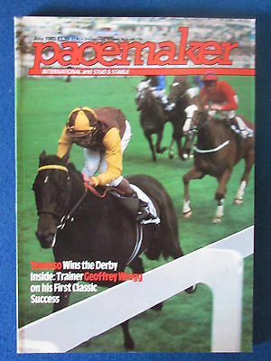 Pacemaker Magazine - July 1983 - Lester Piggott and Teenoso Cover