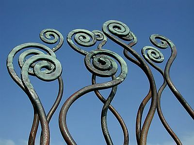 garden sculpture contemporary modern sculpture garden design plants ferns 7613