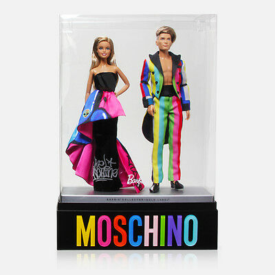 Moschino Barbie & Ken Gold Label X Jeremy Scott Collectors Doll By Mattel, Rare