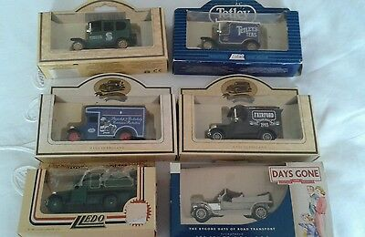 6 X Lledo Days Gone Diecast  Collection Vehicles Boxed