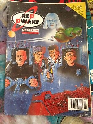 red dwarf comic no:1