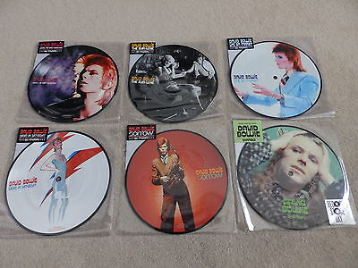 David Bowie - Jean Genie + John... + Life On Mars + 3 - Picture Disc - Unplayed